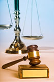 Ley y orden Imagenes de archivo