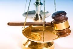 Ley y orden Imagen de archivo libre de regalías