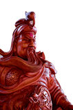 Leyenda del héroe de Guan Yu del chino Foto de archivo