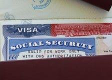 Leyes de Iimmigration Foto de archivo