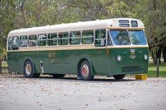 Leyland Bus Pick oben in Whitman Park Western Australia Stockbild