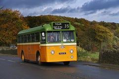 Leyland Leopard Single Decker buss 1962 arkivfoton