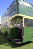 1959年Leyland P d 2双层公共汽车 免版税库存照片