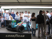 Leyton House F1 car at the 2009 Goodwood Festival of Speed Stock Images