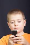 Lezing SMS Royalty-vrije Stock Foto's