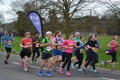 Lezings Halve Marathon 2017 - 19 Maart 2017 Stock Fotografie