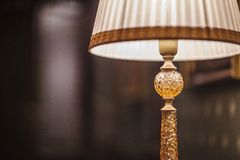Lezingslamp met schaduw Stock Foto