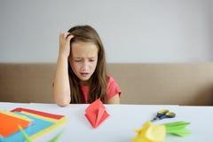 Lezione degli origami Immagini Stock Libere da Diritti