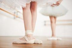 Lezione di balletto Immagine Stock Libera da Diritti