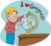 Lezione di geografia Fotografie Stock Libere da Diritti