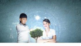 Lezione innovatrice di tecnologie Fotografie Stock