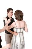 Lezioni di ballo Fotografia Stock