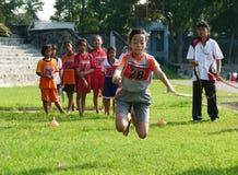 Lezioni di sport Fotografia Stock