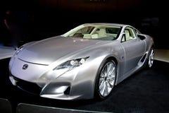 LF-A van Lexus Concept Stock Foto's