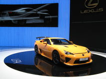 LFA Nurburgring pack. Lexus' high performance high tech GT LFA upgraded with an in home developed  aerodynamic package. This version of the LFA was exposed in Stock Images