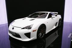 Lfa van Lexus sport Royalty-vrije Stock Afbeeldingen