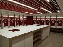 LFC Changing Room Stock Image