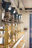 Ölfeld-Technologie Lizenzfreies Stockbild