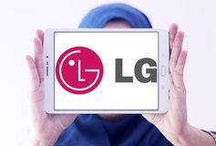 LG-bedrijfembleem royalty-vrije stock foto's