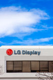 LG Display Headquartes in Silicon Valley Stock Photos