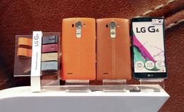 Lg g4 smart phone Stock Photography