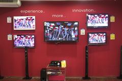 LG TVs Stock Photo