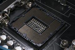 LGA 1155插口 库存照片