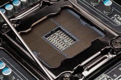 LGA 2011 Socket Stock Image