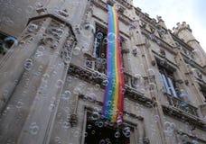 LGBT在马略卡全视图的自豪感庆祝 库存照片