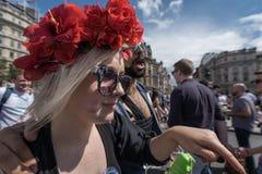 LGBT自豪感伦敦2016年 免版税库存照片