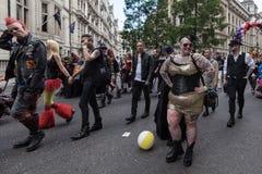 LGBT自豪感伦敦2016年 库存照片