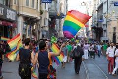 22 LGBT自豪感3月 库存照片