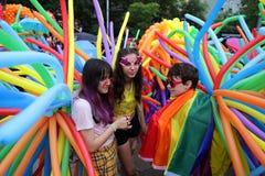 LGBT骄傲游行 免版税图库摄影