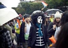 lgbt 2010 ståtar stolthet taiwan Arkivfoton