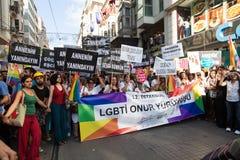 22 LGBT duma Marzec Fotografia Royalty Free