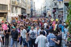 22 LGBT duma Marzec Obrazy Royalty Free