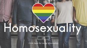 LGBT Equal Rights Rainbow Symbol Concept Stock Photos