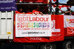 LGBT Labour Royalty Free Stock Photos