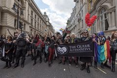 LGBT Pride London 2016 Imagens de Stock Royalty Free