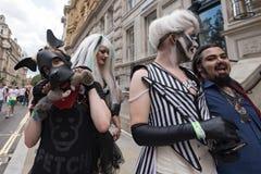 LGBT Pride London 2016 royalty-vrije stock foto's