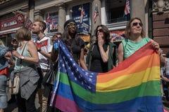 LGBT Pride London 2016 stock afbeeldingen