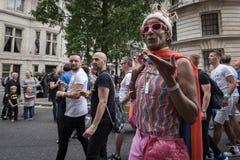LGBT Pride London 2016 Fotografia de Stock Royalty Free