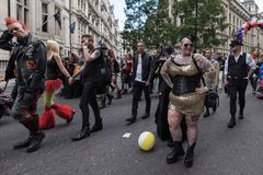 LGBT Pride London 2016 Foto de Stock