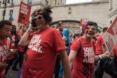 LGBT Pride London 2016 Stock Photography
