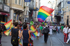 22 LGBT Pride March Stock Foto's