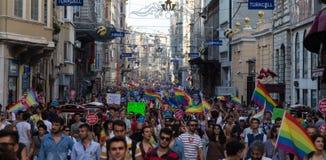 22 LGBT Pride March Imagens de Stock Royalty Free
