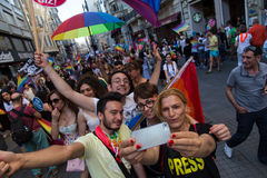 22 LGBT Pride March Stockbilder