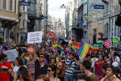 22 LGBT Pride March Fotografia Stock