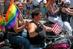 LGBT Pride March gai à Manhattan Image stock