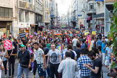 22. LGBT Pride March Royalty Free Stock Images